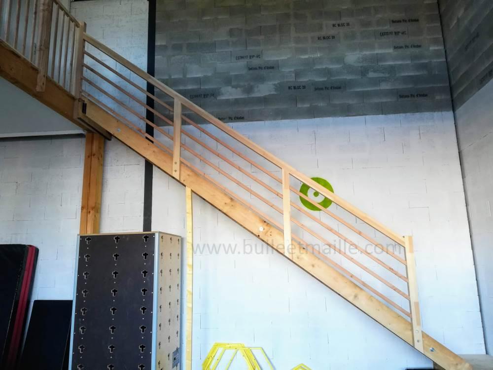 Garde-corps escalier 3 millimètres